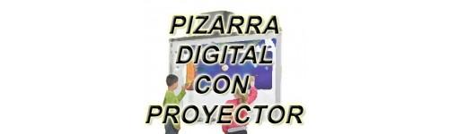 PIZARRA CON PROYECTOR