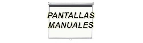 PANTALLAS MANUALES
